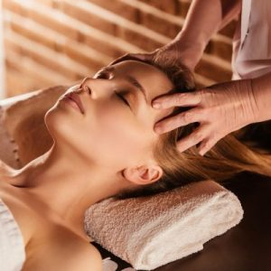 hot oil scalp massage